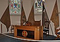 Fort George chapel altar and colours.JPG
