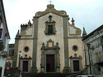 Forza d'Agrò - Cathedral Santissima Annunziata of Forza d'Agrò