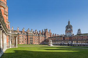 Royal Holloway, University of London - The Founder's Building