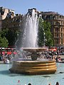Fountain at Trafalgar Square WC2 - geograph.org.uk - 1281759.jpg