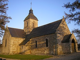 Beaumesnil, Calvados - The church in Beaumesnil