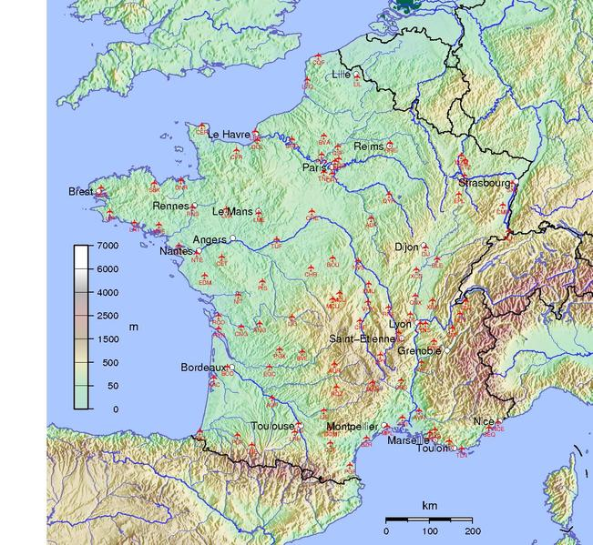 Map Of France Pdf.File France Airport Map Pdf Wikimedia Commons