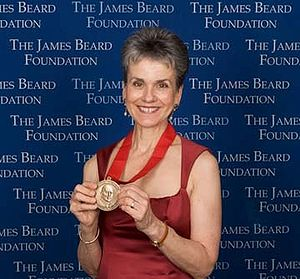 Frances Moore Lappé - Lappé receiving the 2008 James Beard Foundation Humanitarian of the Year Award