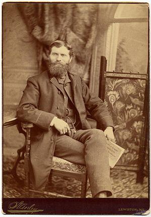 Freelan Oscar Stanley - Francis Edgar Stanley in his studio