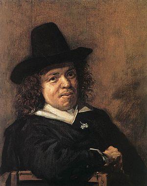 Frans Post - Portrait of Frans Post by Frans Hals.
