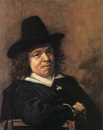 Frans Post - Portrait of Frans Post by Frans Hals.