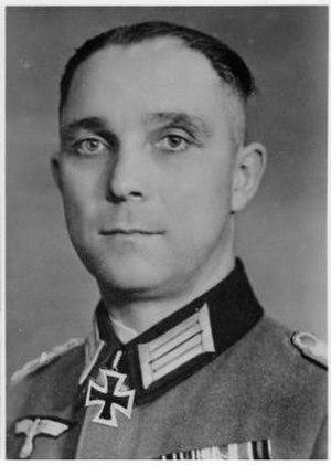 Franz Bäke - Franz Bäke in February 1944