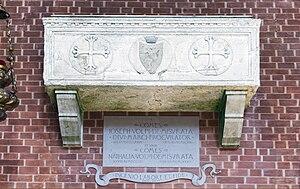 Giuseppe Volpi - tombe in Santa Maria Gloriosa dei Frari