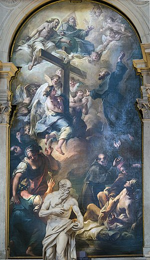Giuseppe Nogari - The Miracle of St. Joseph of Cupertino