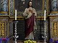 Frauenburg - Pfarrkirche hl Jakob der Ältere - Jesusstatue.jpg