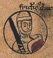 Friedrich's picture in the Chronica S. Pantaleonis