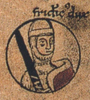 Frederick II, Duke of Swabia - Duke Frederick, Chronica sancti Pantaleonis