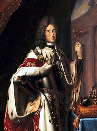 Frederick I of Prussia - Frederick I, in coronation robes.