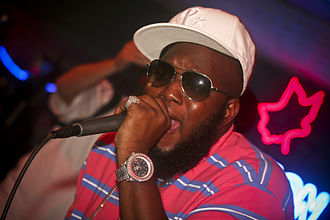 Freeway (rapper) - Freeway performing in Wilmington, Delaware in July 2008.