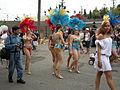 Fremont Solstice Parade 2008 - samba dancers 02.jpg