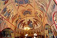 Frescos in St. Georges church in Qakh, Azerbaijan 1.jpg