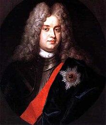 Kronprinz Friedrich Wilhelm im Harnisch mit Bruststern und Schulterband des Schwarzen Adlerordens (Quelle: Wikimedia)