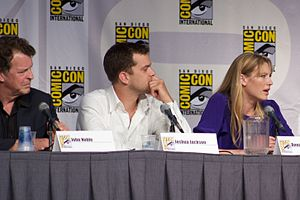 """Fringe"" Panel. Actors John Noble, J..."
