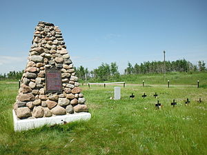 Frog Lake Massacre - Image: Frog Lake National Historic Site