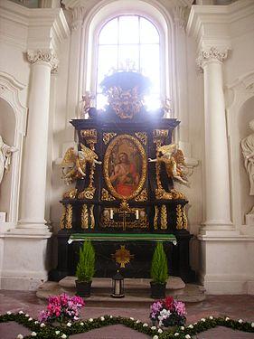 Fulda Dom St. Salvator & Bonifatius Innen Seitenaltar 1.JPG