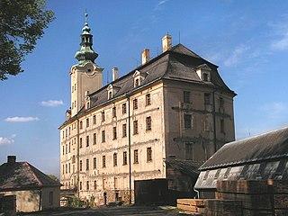 Fulnek Town in Moravian-Silesian, Czech Republic
