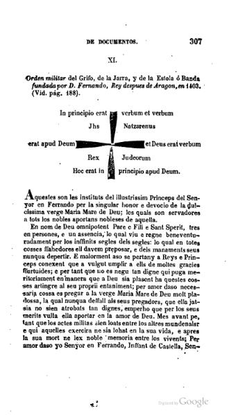 File:Fundació de l'ordre militar del griu (1851).djvu