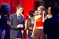 G4TV Hosts Kevin Pereira and Candace Bailey by Richard Cabrera.jpg