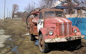 GAZ-51 in the village Chuteevo in Chuvashia.jpg