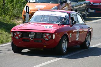 Alfa Romeo GTA - Alfa Romeo GTA in competition.