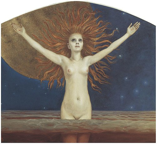 Ad Astra, 1907, oil on canvas