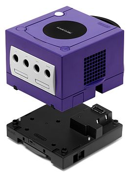 Game Boy Player onder een GameCube
