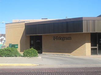 Garden City, Kansas - The Garden City Telegram newspaper office (2010)