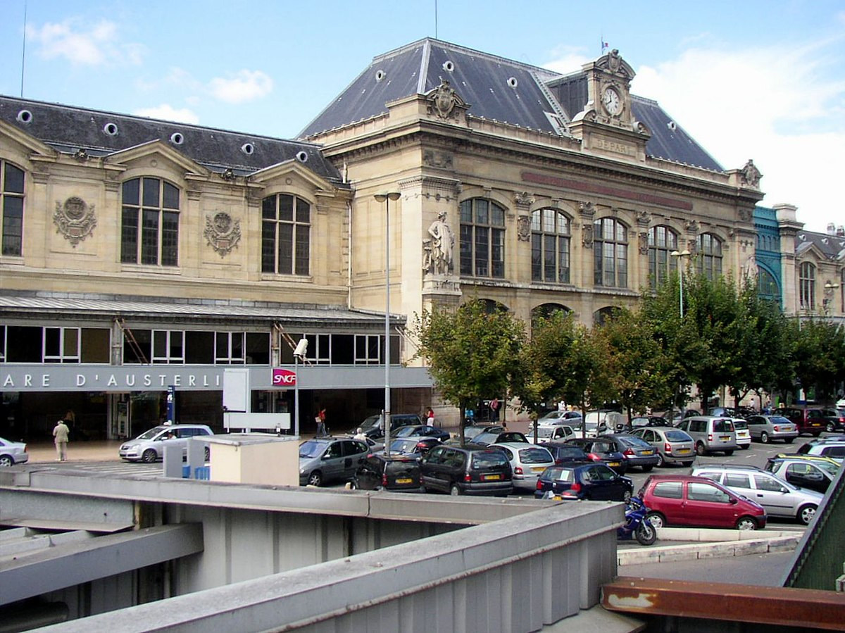 Gare d 39 austerlitz wikipedia for Train tours paris austerlitz