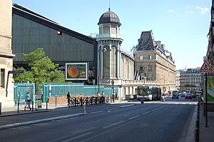 Français : Gare Saint Lazare côtés rue de Rome