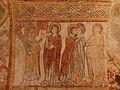 Gargilesse-Dampierre (36) Église Saint-Laurent et Notre-Dame Crypte Fresques 15.JPG