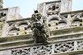 Gargoyle with glasses, Holy Cross church, Great Ponton (geograph 3483666).jpg