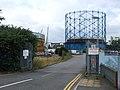 Gasometer, Pier Road, Gillingham - geograph.org.uk - 1939966.jpg