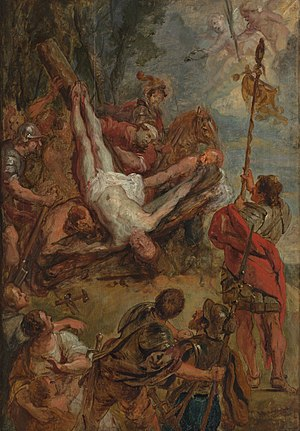 The martyrdom of Saint Peter