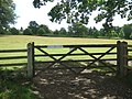 Gate on Bridleway near Fairlawne House - geograph.org.uk - 1399530.jpg