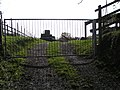Gated entrance to a barn area - geograph.org.uk - 1589144.jpg