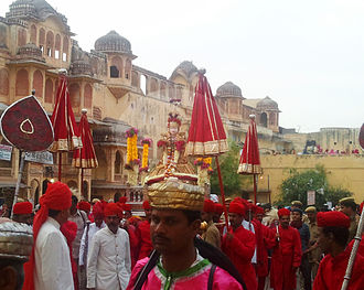 Parvati - Parvati being celebrated at Gauri Festival, Rajasthan.