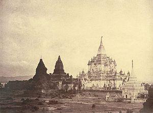 Gawdawpalin Temple - Gawdawpalin Temple in 1855