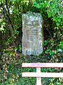 Gedenkstätte an das ehemalige Forsthaus in Mittelberg - panoramio.jpg
