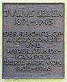 Gedenktafel Eisvogelweg 71 (Zehl) Julius Leber.JPG