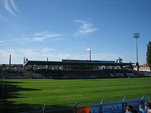 Stadion an der Gellertstraße - Image: Gellertstrasse Haupttribuene