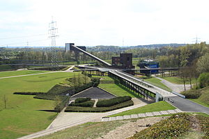 Nordsternpark - Central area of Nordsternpark