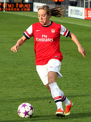 Gemma Davison - Davison playing for Arsenal in 2013