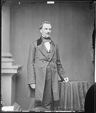 James Shields (politician, born 1806) - James Shields, photograph by Mathew Brady