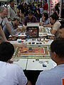Gen Con Indy 2007 exhibit hall - board game (Talisman) demo - 01.JPG