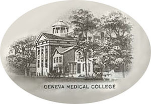 Geneva Medical College - Geneva Medical College – 1910 Commemoration Sketch